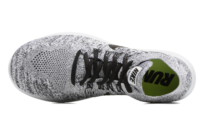 Scarpe sportive Nike Wmns Nike free Rn Flyknit 2017 Grigio immagine sinistra