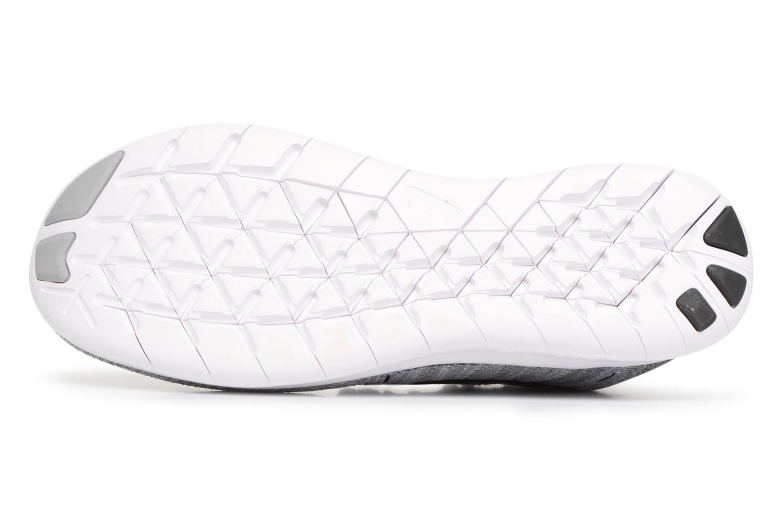 Zapatillas de deporte Nike Wmns Nike free Rn Flyknit 2017 Gris vista de arriba