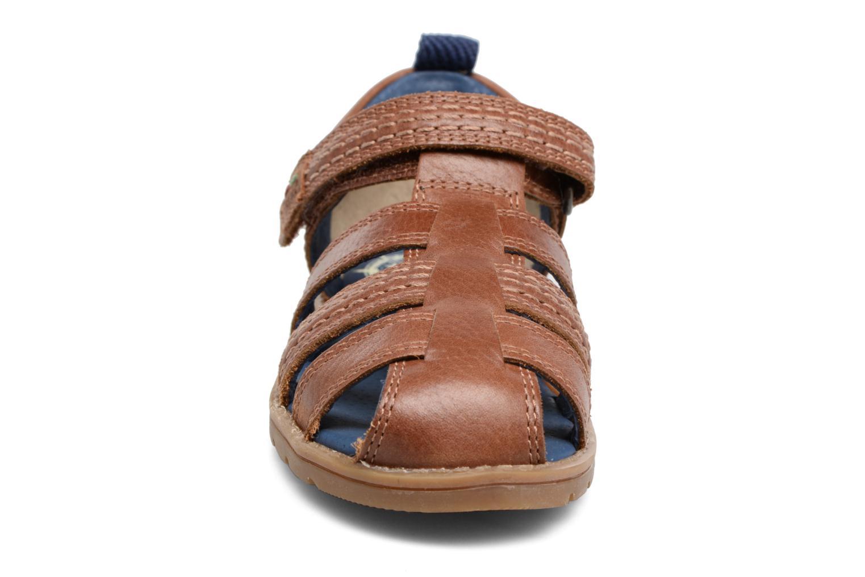 Sandals Kickers Orin Sandal Brown model view