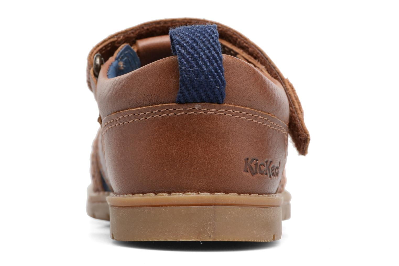 Sandals Kickers Orin Sandal Brown view from the right