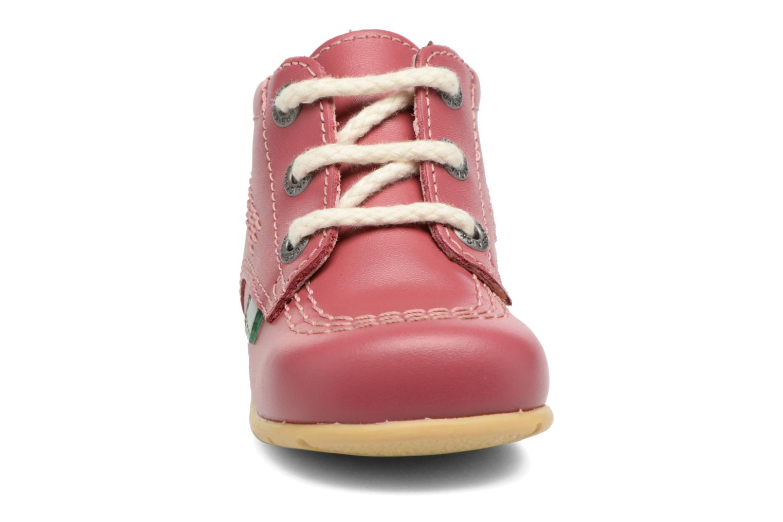 Ankle boots Kickers Kick Hi B Pink model view