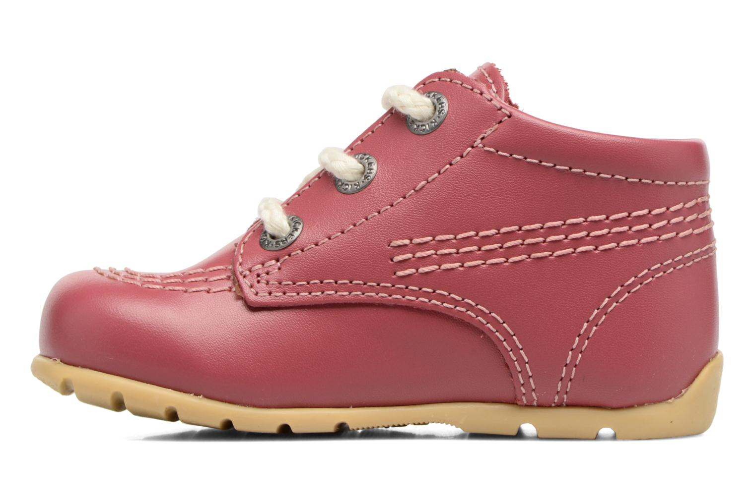 Ankle boots Kickers Kick Hi B Pink front view