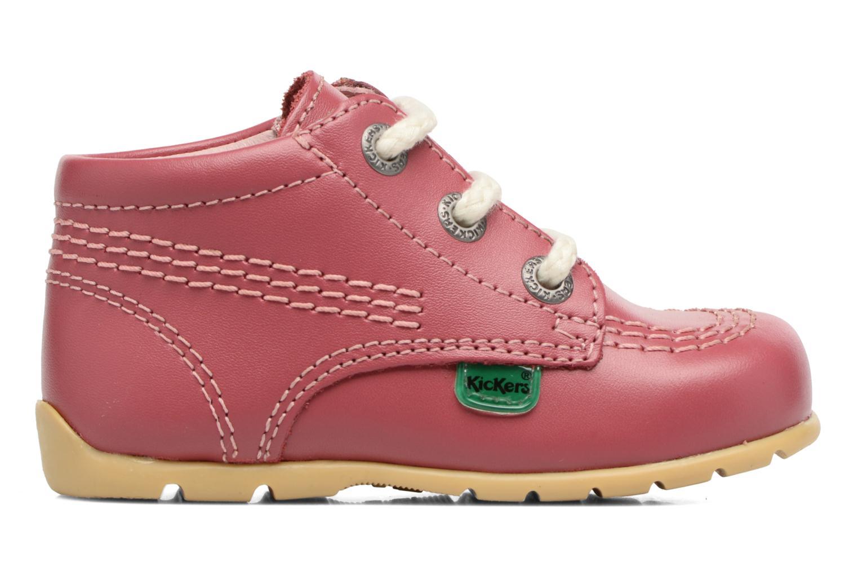 Ankle boots Kickers Kick Hi B Pink back view