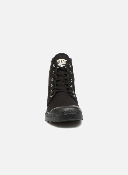 Baskets Palladium Pampa Hi Orig U Noir vue portées chaussures