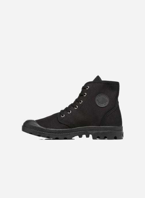 Sneaker Palladium Pampa Hi Orig U schwarz ansicht von vorne