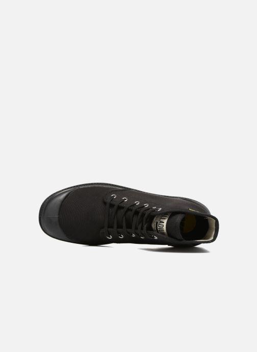 Sneakers Palladium Pampa Hi Orig U Zwart links