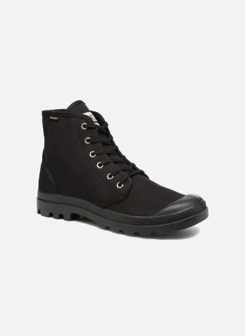 Sneakers Palladium Pampa Hi Orig U Zwart detail