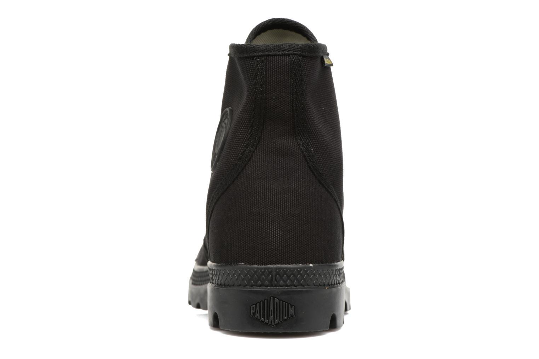 Sneakers Palladium Pampa Hi Orig U Zwart rechts