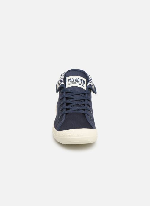 Baskets Palladium Aventure Bleu vue portées chaussures