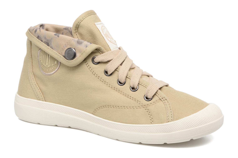 Sneakers Palladium Aventure Grøn detaljeret billede af skoene
