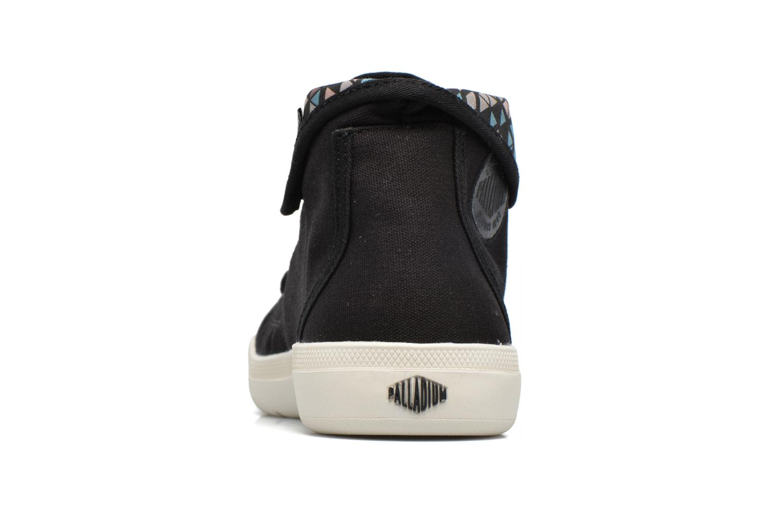 Trainers Palladium Aventure Black view from the right