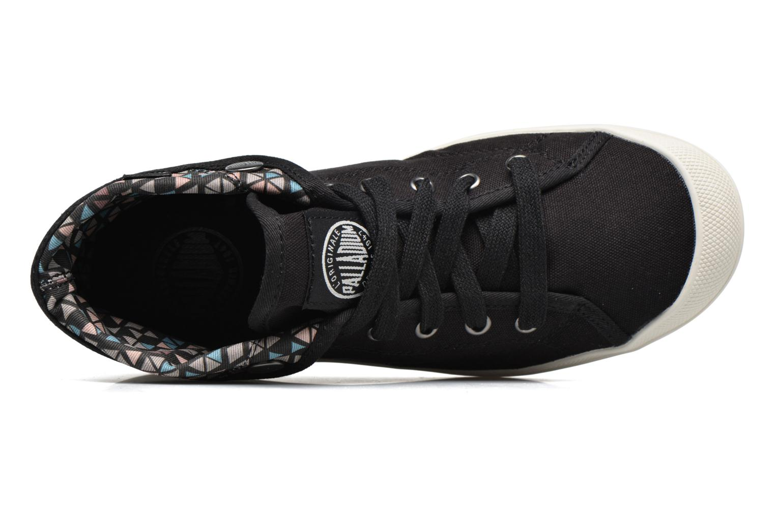 Trainers Palladium Aventure Black view from the left