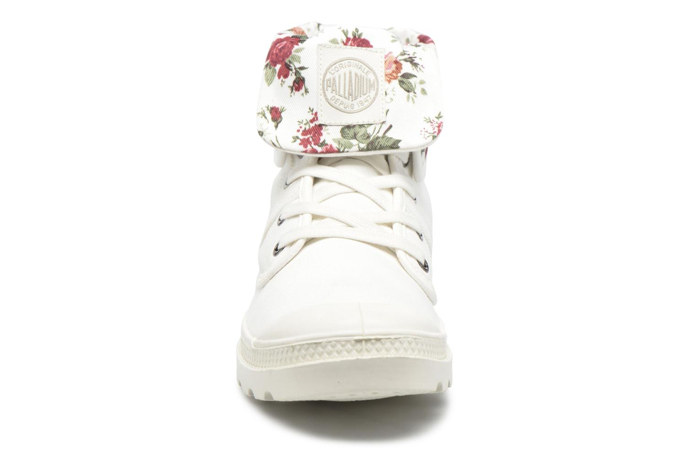 Baskets Palladium Baggy Twl F Blanc vue portées chaussures