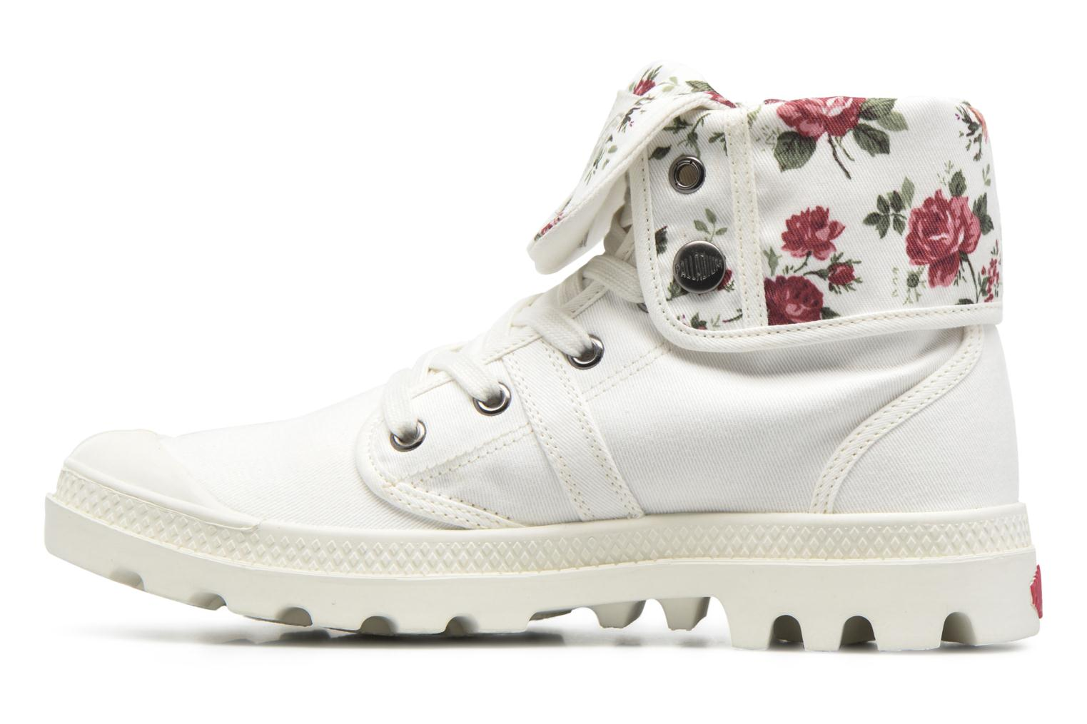 Trainers Palladium Baggy Twl F White front view