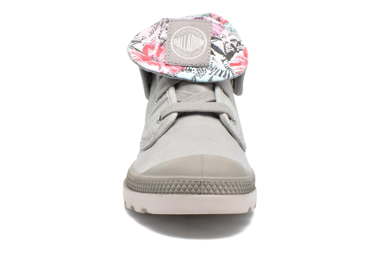 Baskets Palladium Baggy Lp Tw P F Gris vue portées chaussures
