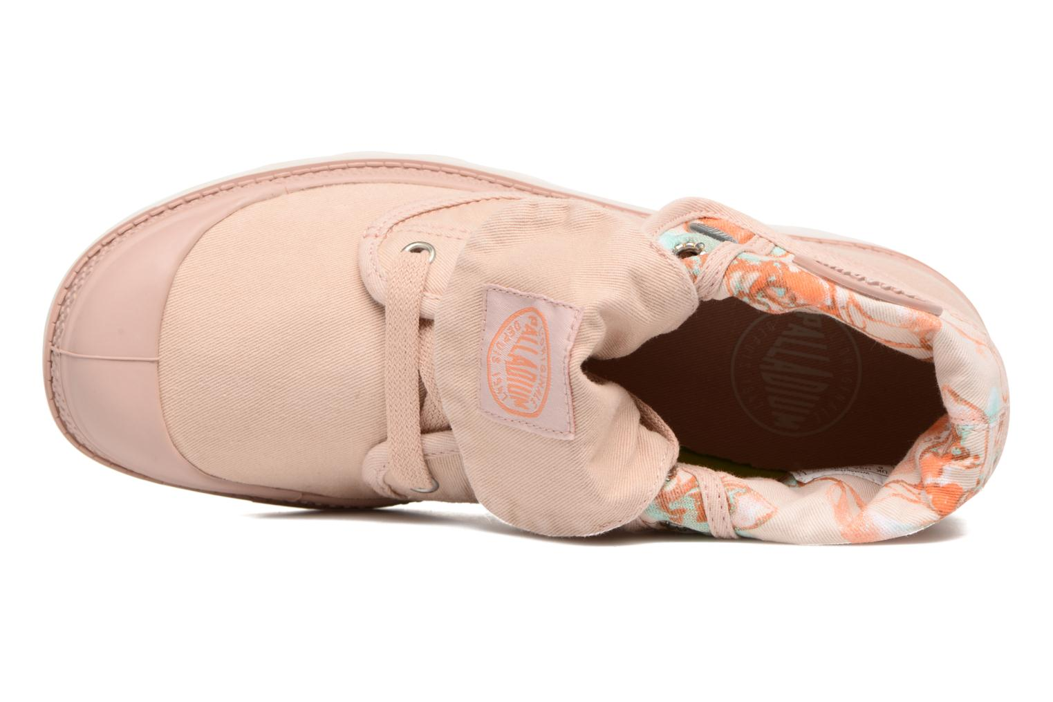 Trainers Palladium Baggy Lp Tw P F Pink view from the left
