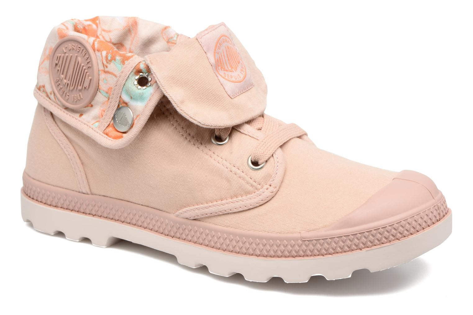Trainers Palladium Baggy Lp Tw P F Pink detailed view/ Pair view