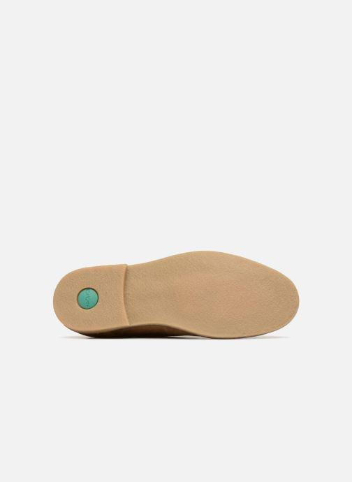 Chaussures à lacets Kickers Bachalcis Beige vue haut