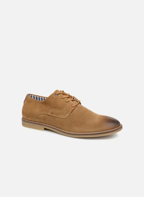 Chaussures à lacets Kickers Bachalcis Beige vue détail/paire
