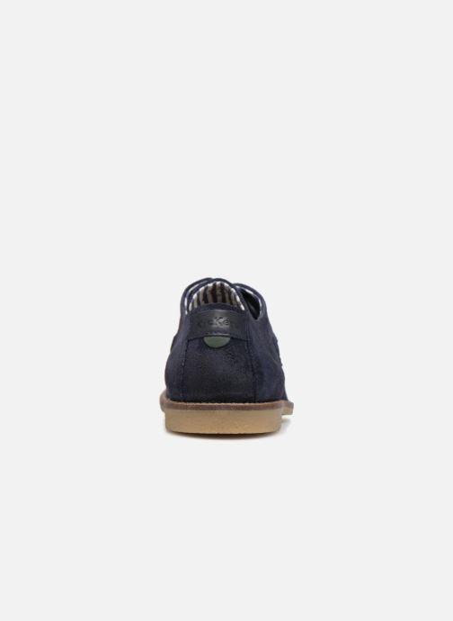 Chaussures à lacets Kickers Bachalcis Bleu vue droite