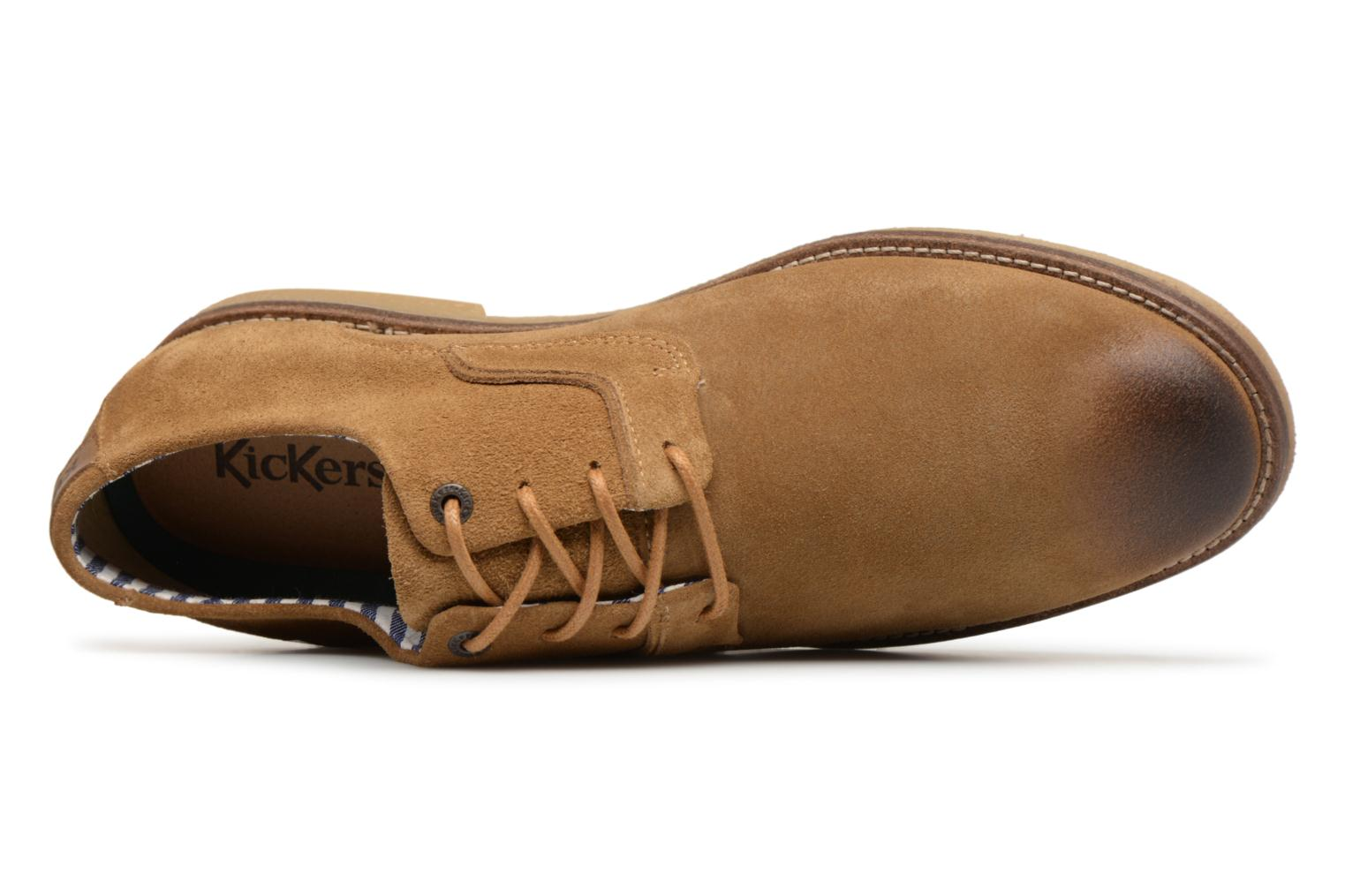 Veterschoenen Kickers Bachalcis Beige links