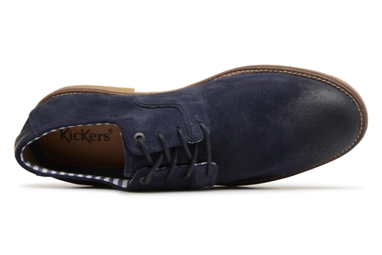Chaussures à lacets Kickers Bachalcis Bleu vue gauche