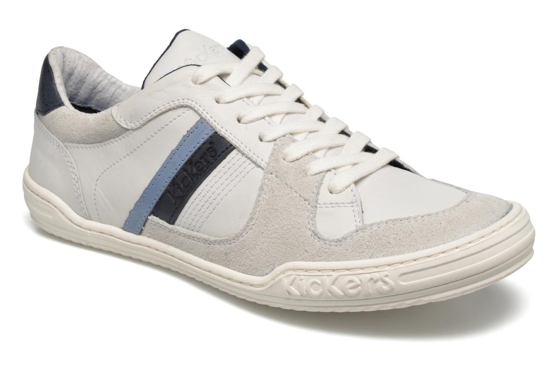Sneakers Kickers Jexprime Wit detail