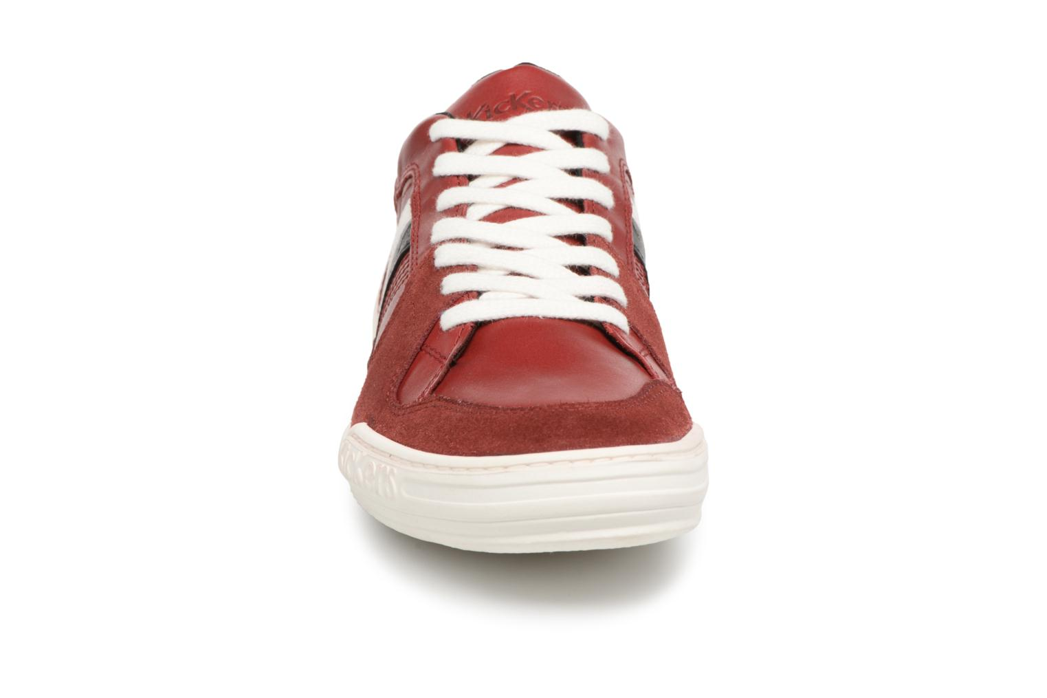 Sneakers Kickers Jexprime Rood model