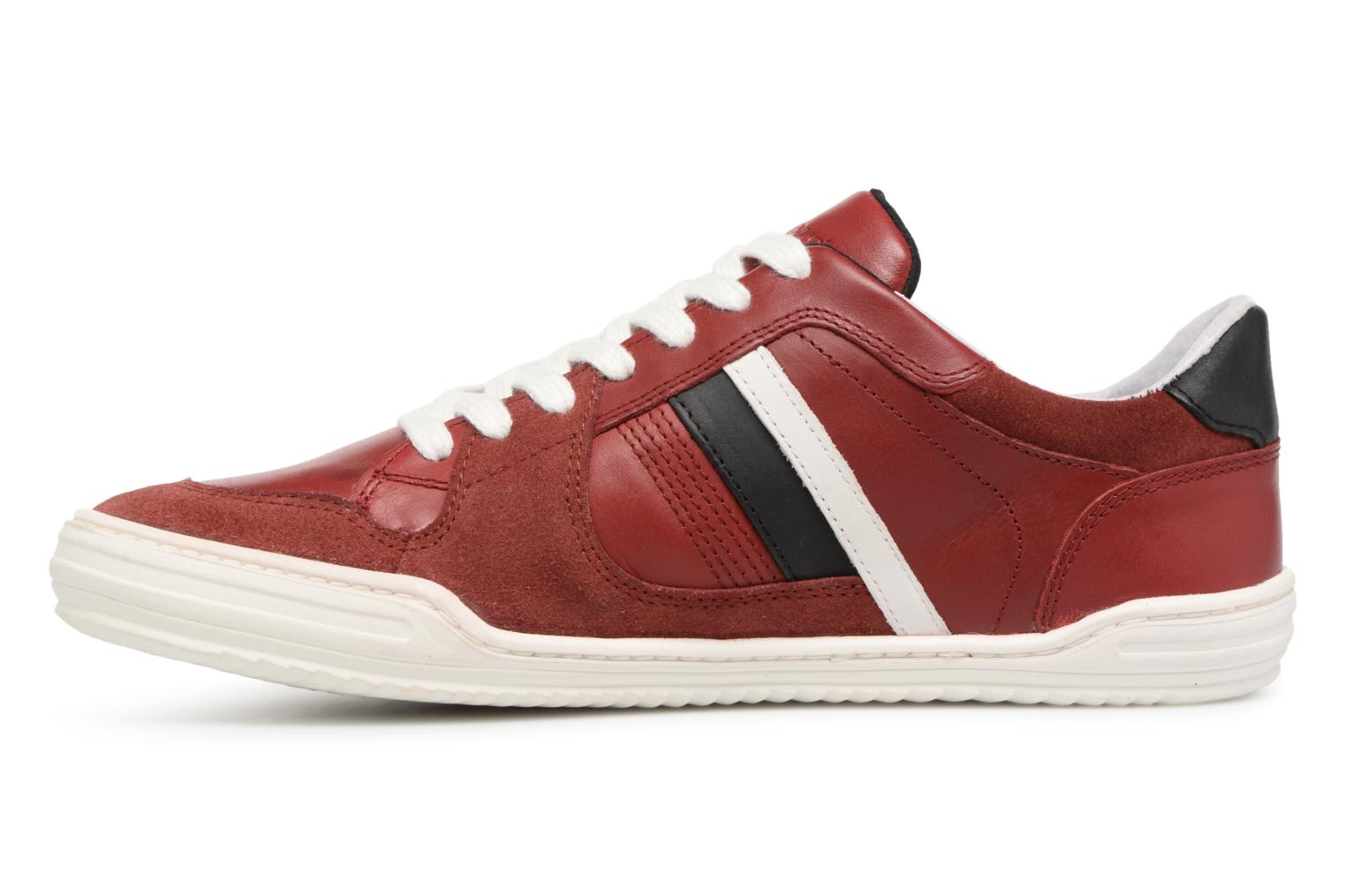 Sneakers Kickers Jexprime Rosso immagine frontale