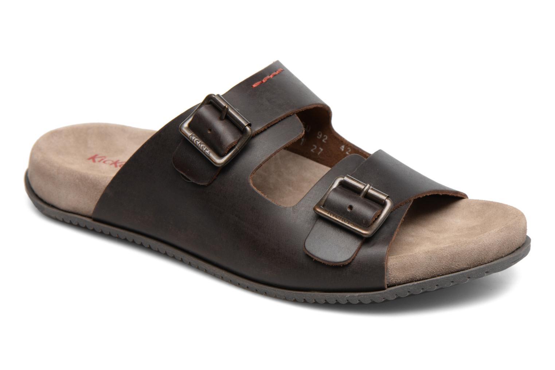 Sandalen Kickers Relaxou braun detaillierte ansicht/modell