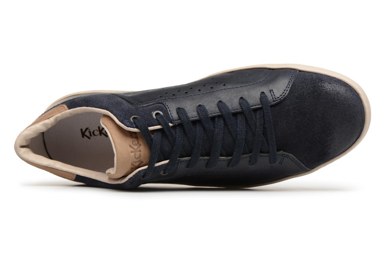 Sneaker Kickers Sniff blau ansicht von links