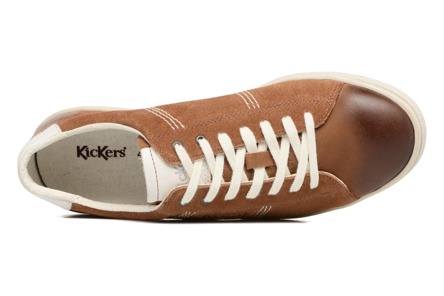 Baskets Kickers San Jose Marron vue gauche