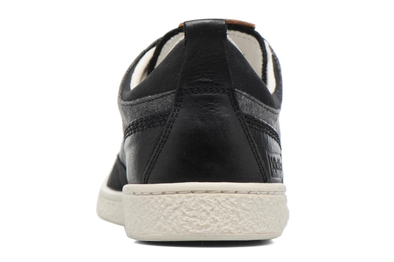 Sneakers Kickers Santa Fe Nero immagine destra
