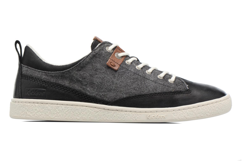 Sneakers Kickers Santa Fe Nero immagine posteriore