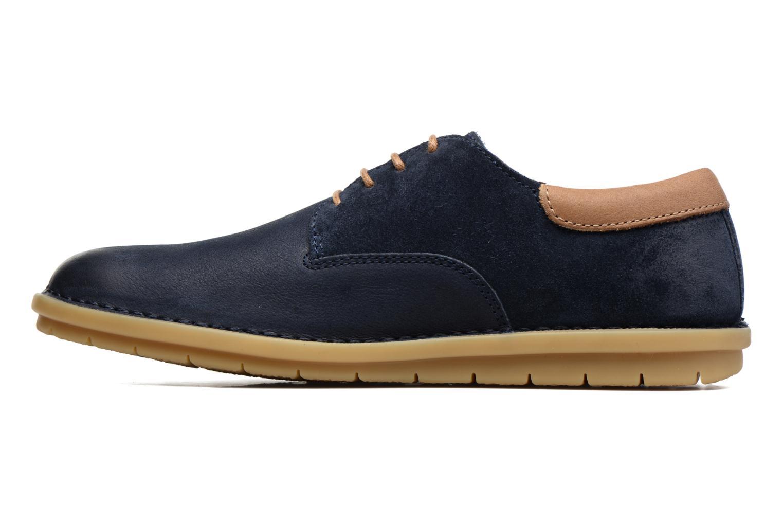 Chaussures à lacets Kickers Vildiur Bleu vue face