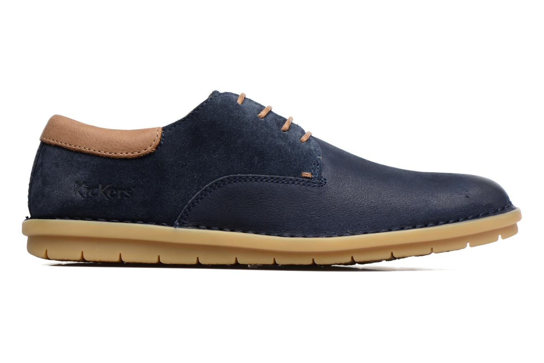 Chaussures à lacets Kickers Vildiur Bleu vue derrière