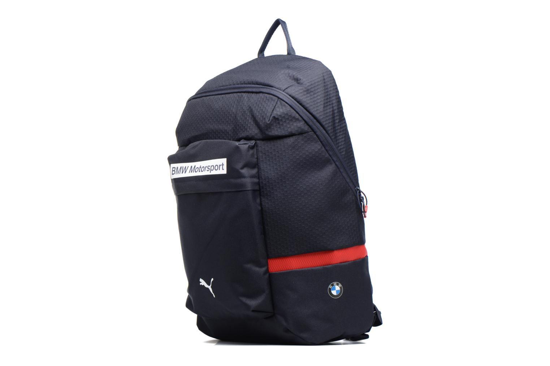 Zaini Puma BMW Motorsport Backpack Azzurro modello indossato