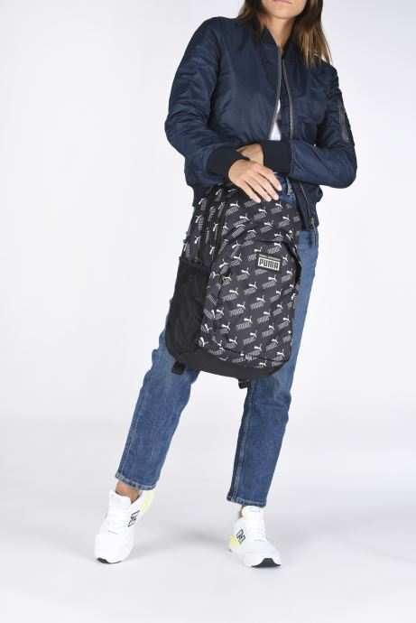 Zaini Puma Academy Backpack Nero immagine dal basso
