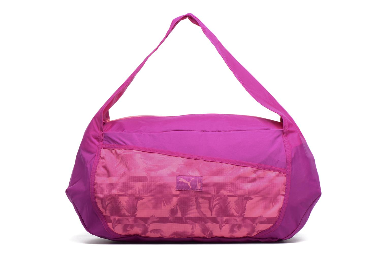 Sporttassen Puma Studio Barrel Bag Roze detail