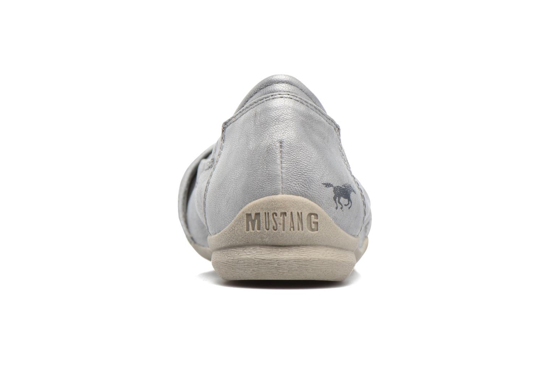 Ballerines Mustang shoes Camila Argent vue droite