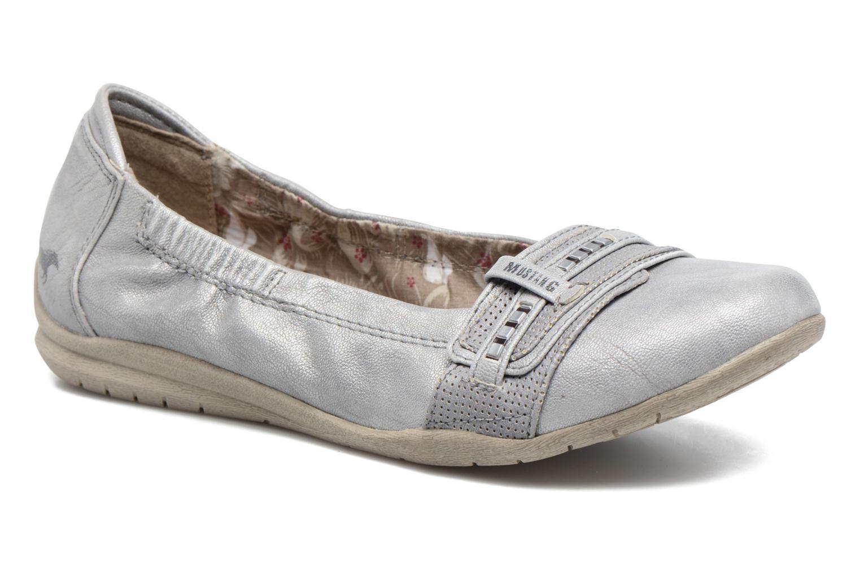 Ballerines Mustang shoes Camila Argent vue détail/paire