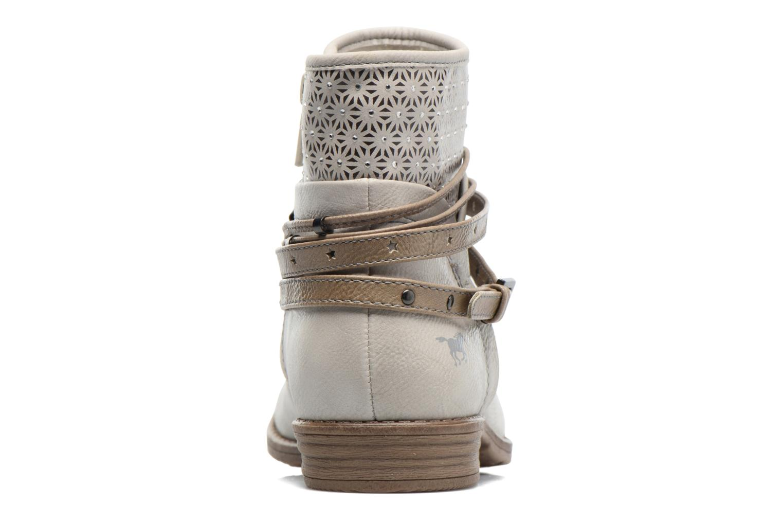 Bottines et boots Mustang shoes Calliope Beige vue droite
