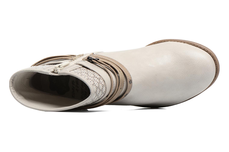 Bottines et boots Mustang shoes Calliope Beige vue gauche