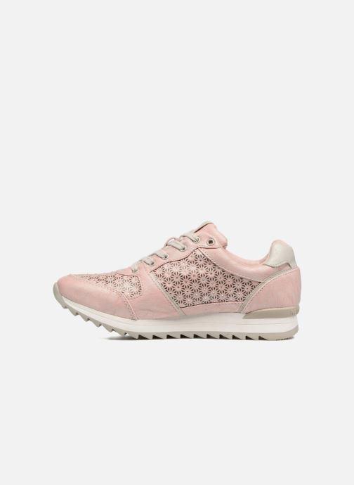 Sneaker Mustang shoes Cacilia rosa ansicht von vorne
