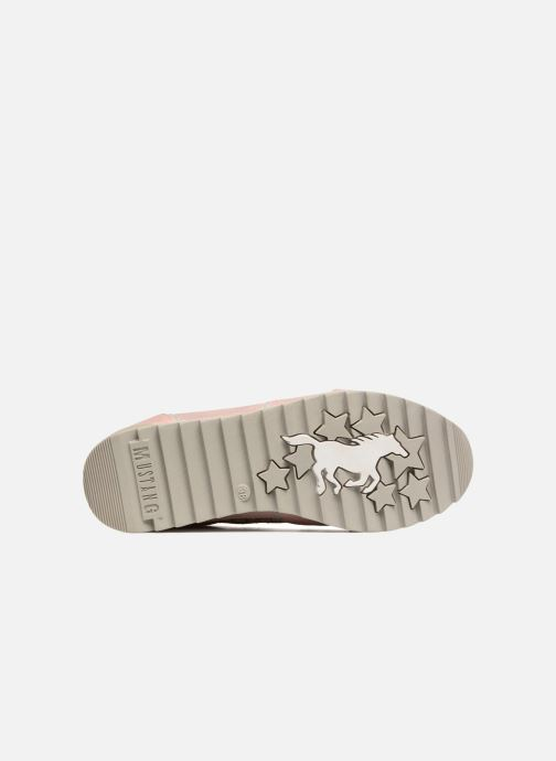 Sneaker Mustang shoes Cacilia rosa ansicht von oben