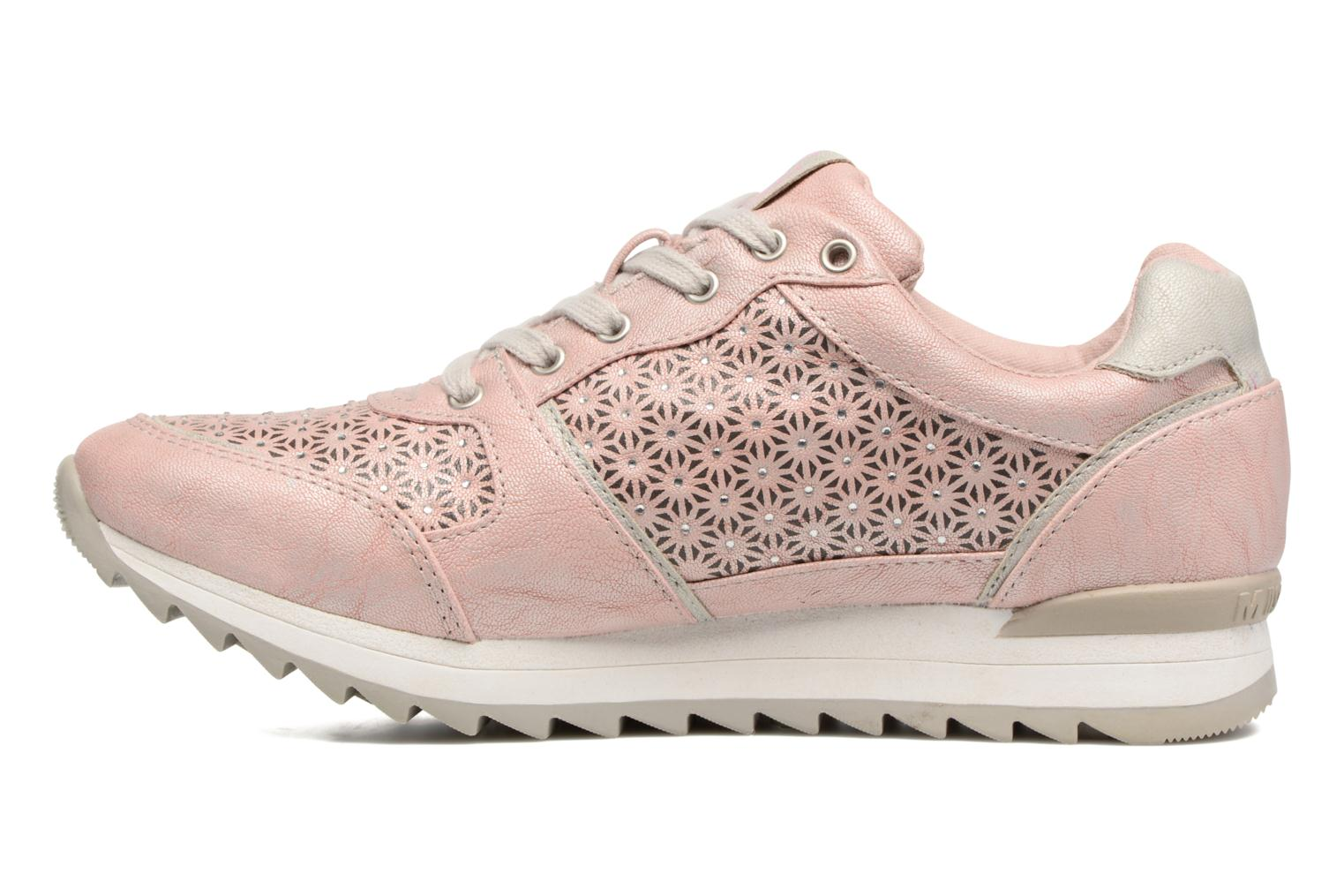 Trainers Mustang shoes Cacilia Pink front view