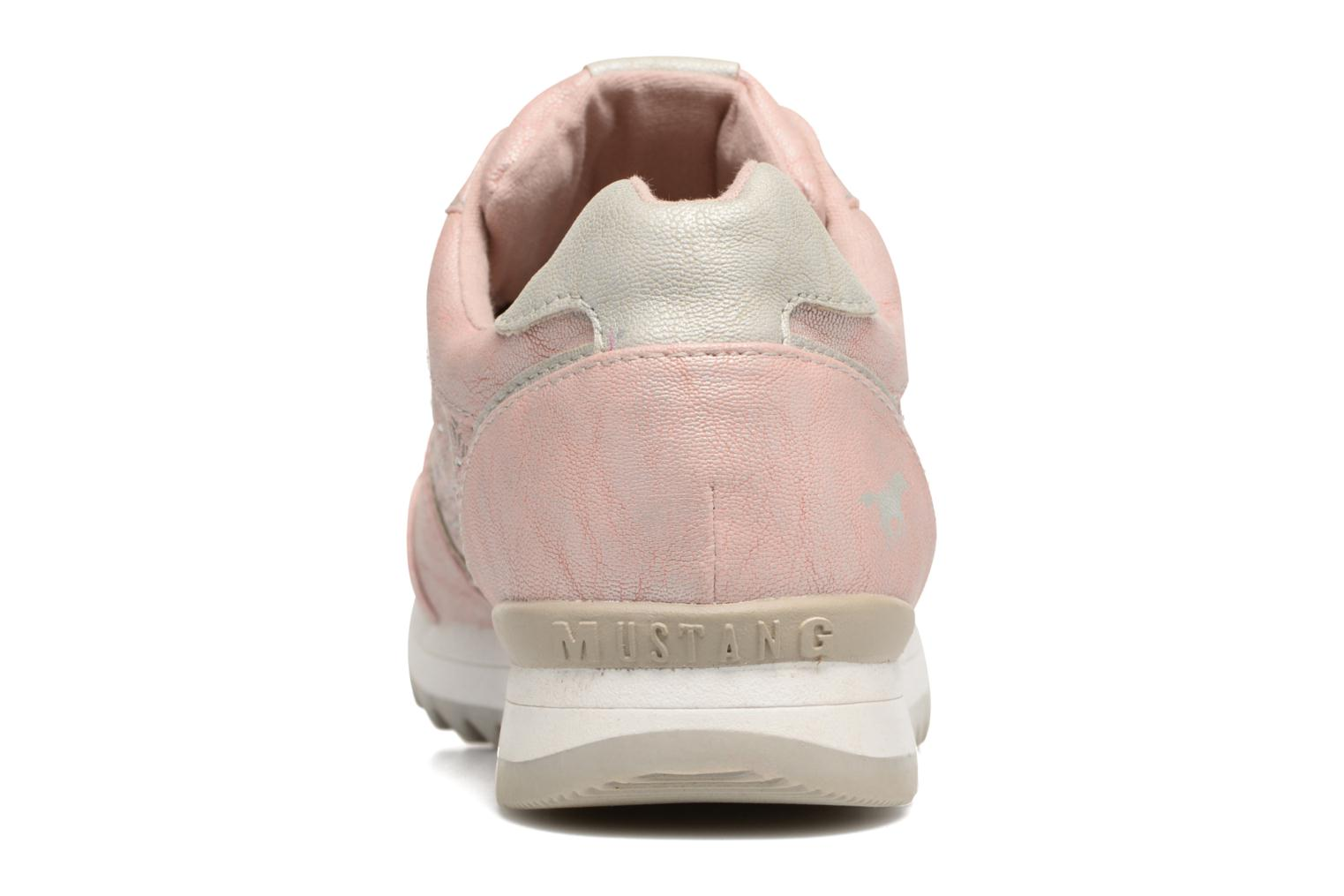 Trainers Mustang shoes Cacilia Pink view from the right