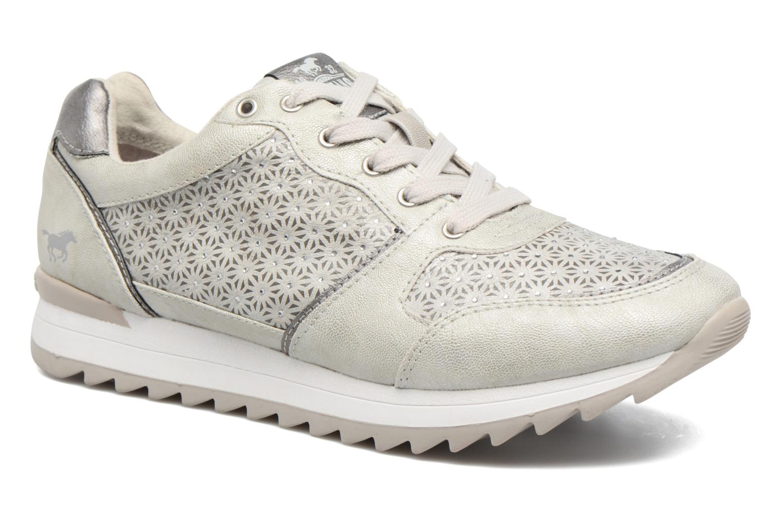 Sneakers Mustang shoes Cacilia Zilver detail