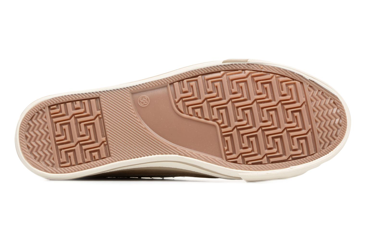 Sneakers Mustang shoes Verena Beige immagine dall'alto