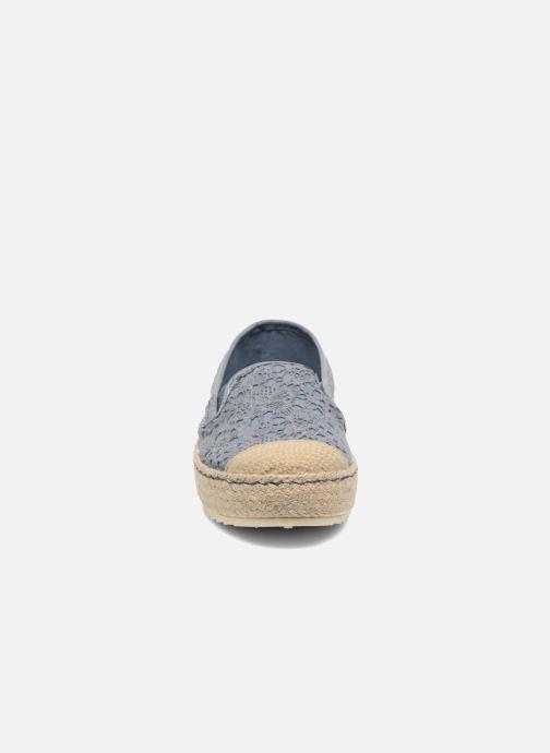 Espadrilles Mustang shoes Liese Bleu vue portées chaussures